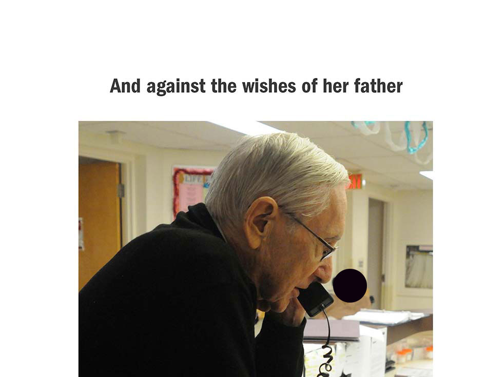 And against the wishes of her father