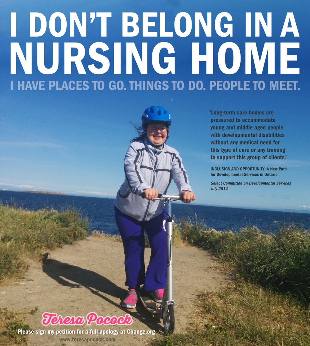 Teresa Pocock, I Don't Belong in a Nursing Home